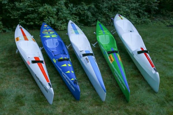Surfskis! Nelo 550, Nelo 520, Nelo 560, Nelo 600 picture of all three boats for sale